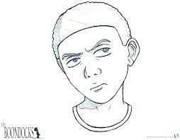 the boondocks coloring pages color boondock saints colo