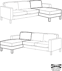 ikea karlstad add on chaise cover