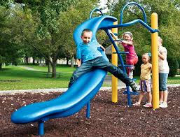 How is this even a slide? I only see more children getting hurt!