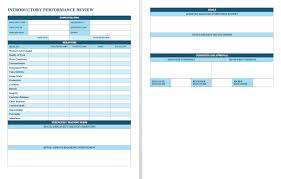 employee sheet template free employee performance review templates smartsheet