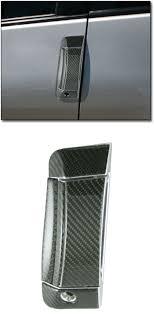 carbon fiber door handle cover kit 03 09 350z