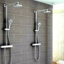 outdoor shower fixtures hand held faucet heads best head copper rain
