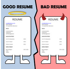 Brilliant Ideas Of Examples Of Good And Bad Resumes With Template