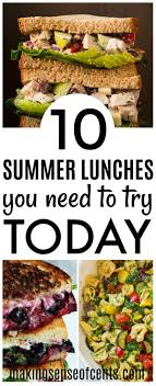 Light And Refreshing Dinner Ideas 10 Delicious Summer Lunch Ideas Summer Meals You Need To Make