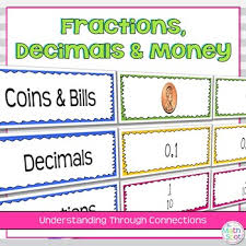 Decimal Place Value Chart And Activity