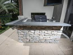 kitchen grey concrete counter tops popular of outdoor kitchen countertops
