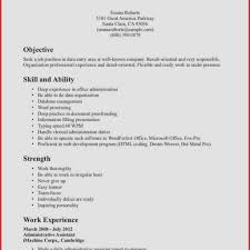 Resume Skills And Abilities Samples Resume Skills and Abilities Examples Inspirational Sample Resume for 51