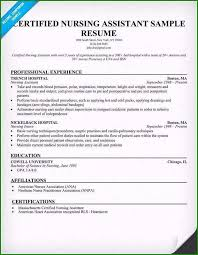 Sample Resume For Cna Astounding Nurse Aide Resume Template That Get Interviews