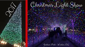 2017 Christmas Light Show Jackson Park Windsor On 4k