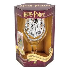 official harry potter hogwarts colour changing drinking gl boxed gift