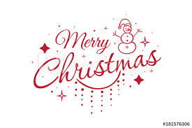 Merry Christmas Banner Print Merry Christmas Card Beautiful Greeting Winter Banner Poster