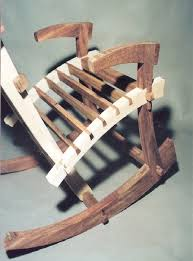 anese rocking chair when the time it was build by aviad mishaeli lumberjocks com woodworking community