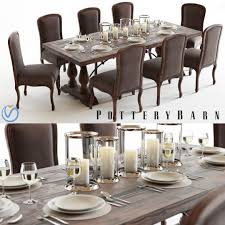 ... pottery barn lorraine dining table trestle reviews p4206 buffet ethan  allen disney architecture how did die restoration hardware ...
