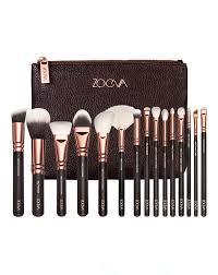 rose golden plete brush set volume 1 by zoeva all dolled up it cosmetics brushes zoeva brushes cosmetic brush set