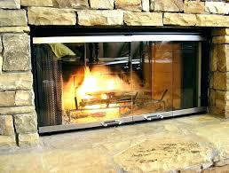 fireplace glass door installation replacing fireplace glass replace