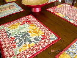 Ladies Who Lunch Placemat Pattern   FaveQuilts.com &  Adamdwight.com