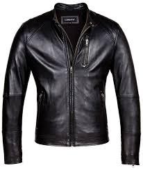 mens leather moto jacket designer mens genuine leather jackets