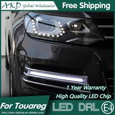 2013 Touareg Fog Light Replacement Akd Car Styling For Vw Touareg Led Drl 2010 2013 Touareg Led Daytime Running Light Fog Light Signal Parking Accessories
