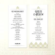 diy wedding programs paddle fan program template kits booklet