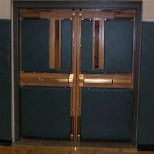 school gym doors. Wall Pad 2x6 Ft 2 Inch ASTM Foam WB Lip TB Custom Pad. School Gym Doors D