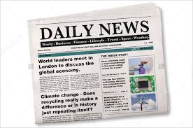 Newspaper Story Template 15 Newspaper Headline Templates Free Sample Example Format