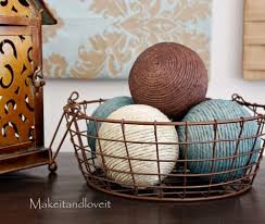 Wicker Balls For Decoration Custom DIY Spray Paint Decor Balls
