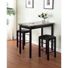 Bar Stool Table Set Walmart Of Kitchen Sets Height Dining Stools And