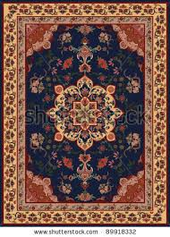 carpet design. Oriental Floral Carpet Design. Design