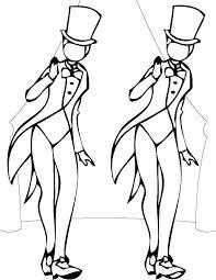 Tap Dance Coloring Pages D For Dancer Sheets Jadoxuvaletop