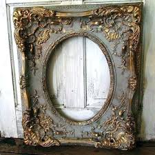 Antique mirror frame Metallic Ornate Mirror Frame Antique Mirror Frames Large Ornate Picture Frame Wood French Farmhouse Distressed Gray Cherriescourtinfo Ornate Mirror Frame Pogadajmy
