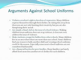essays against school uniforms co essays against school uniforms