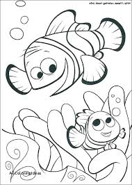 Finding Nemo Coloring Sheets Wikipharminfo