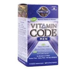 garden of life vitamin code men s