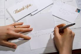 job interview thank you card samples thank you note example for sending after a job interview