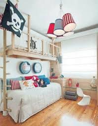 Kids Room: Pirateship Theme Bedroom With Wall Murals - Pirate Bedroom Boys