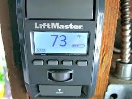 liftmaster garage remote garage door opener learn on wired garage door smart control panel garage door
