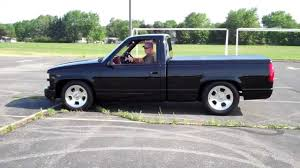 1990 Chevy pickup with a 502 - YouTube
