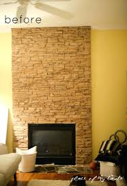 how to put up stone on fireplace wall fireplace mantel 2 2