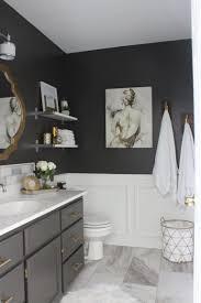 Sexy Gray Master Bathroom