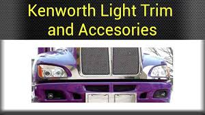 fender guard lighting and other front section accessories