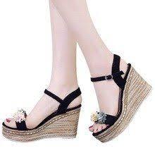 Sinsaut Summer <b>Shoes</b> Woman Heel <b>Sandal</b> High Heels Wedges ...