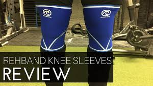 Rehband <b>7mm Knee Sleeves</b> Review - YouTube