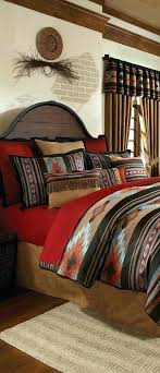 native comforter sets southwest bedding by design american indian themed bedroom bear