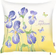 """<b>Чехол для декоративной подушки</b> Apolena """"Iris"""", 43 х 43 см"""