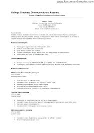 Resume Template For Students With Little Experience