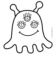 Small Picture Alien coloring pages for kids printable free Coloring pages