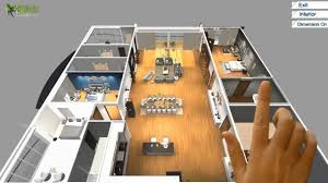 floor plan design. Virtual Reality Floor Plan Design For Touch Screen , VR Glasses \u0026 Cardboard Experience