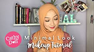 minimal makeup look tutorial feat cathy doll ad