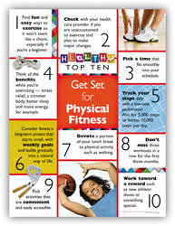 Personal Best Posters Physical Fitness