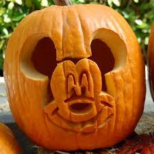 Mickey Mouse Pumpkin Carving Template Disney Family